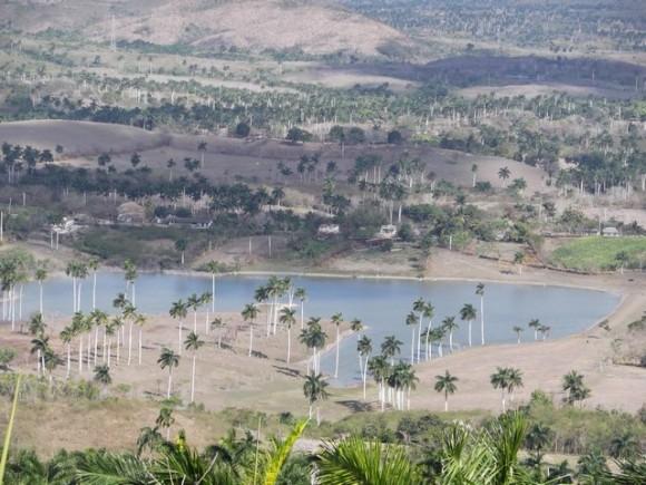 Paisaje. Imagen tomada desde las Escaleras de Jaruco. Foto: Yadira