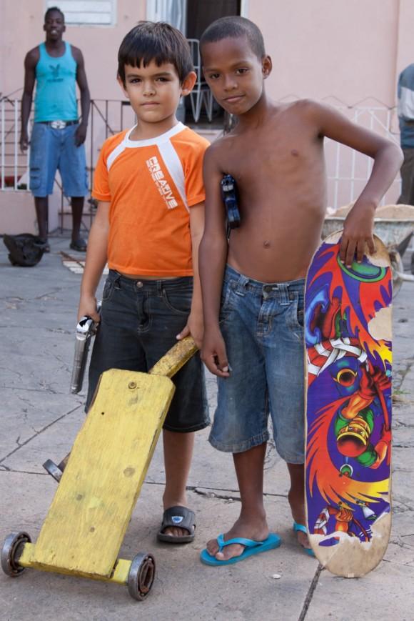 Amigos en Buena Vista. Foto: Alejandro Ramírez Anderson.
