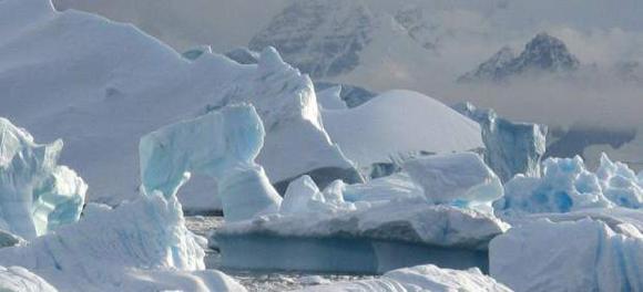 Paisaje antártico