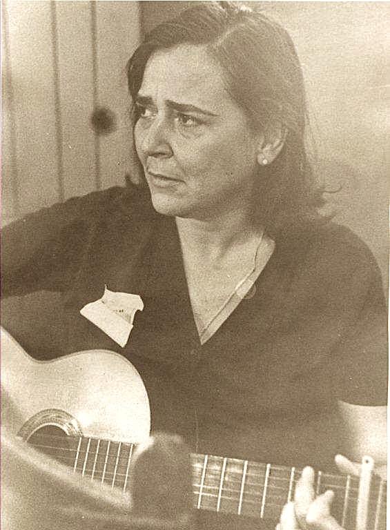 Teresita Fernández. Foto: Archivo de Marta Valdés/ Cortesía del Museo de la Música.