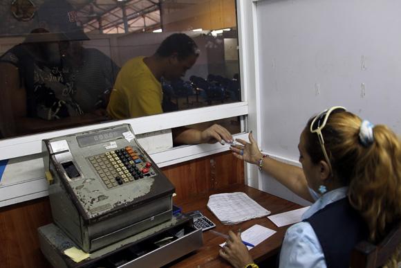 Taquilla de Reservaciones. Foto: Ismael Francisco/Cubadebate.