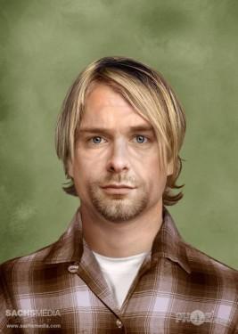 Kurt Cobain (1967-1994, 27 años) Guitarrista y frontman de Nirvana.