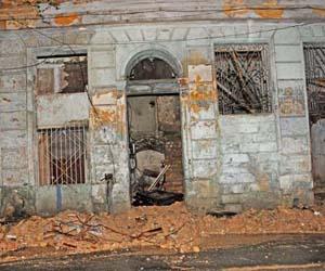 Deruumbe en Campanario 619. Foto: Archivo