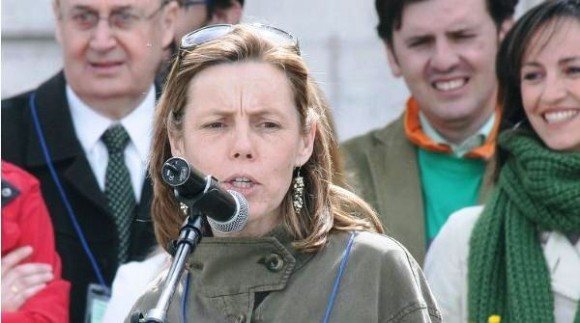 Alicia Latorre, presidenta nacional de la Federación de Asociaciones Provida de España y de Adevida Cuenca. Foto: Archivo.
