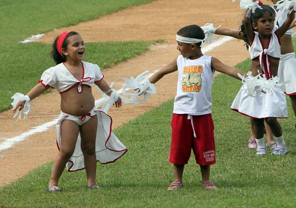 Actividad inaugural de la 53 Serie Nacional de Béisbol. Foto: Ismael Francisco/Cubadebate.