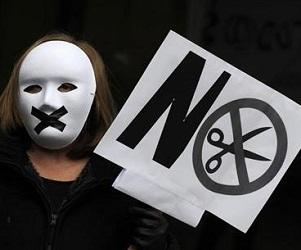 manifestantes españa