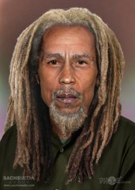 Bob Marley (1945-1981, 36 años) Probablemente la figura más influyente del reggae.