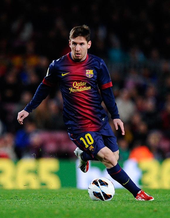 Lionel Messi. Foto: Archivo.
