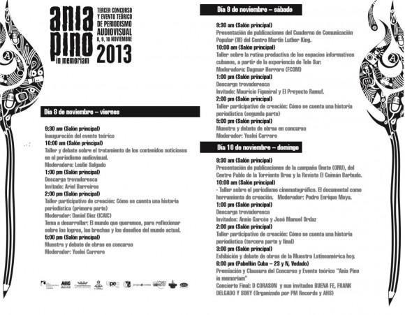 programa Ania Pino