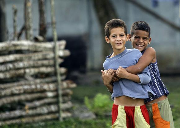 Niños en Santo Tomás. Foto: Ismael Francisco/Cubadebate.
