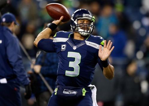Juego de fútbol americano entre los Seattle Seahawks y los New Orleans Saints. Foto: Getty Images