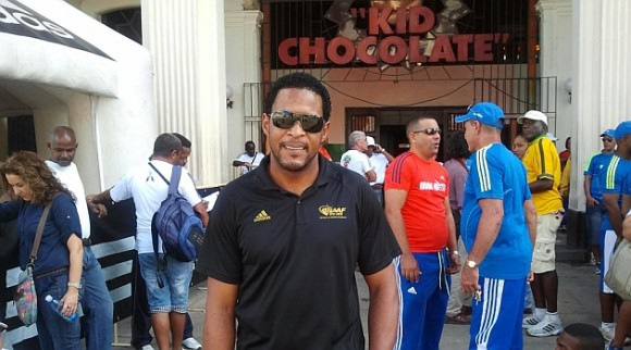 Sotomayor en la Kid Chocolate