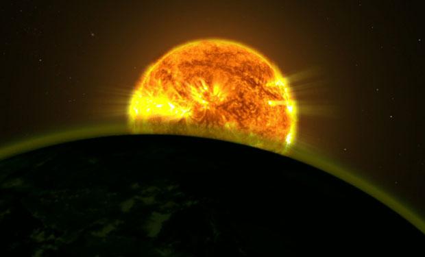 NASA descubre indicios de agua en cinco planetas externos al Sistema Solar. Foto: Hubble