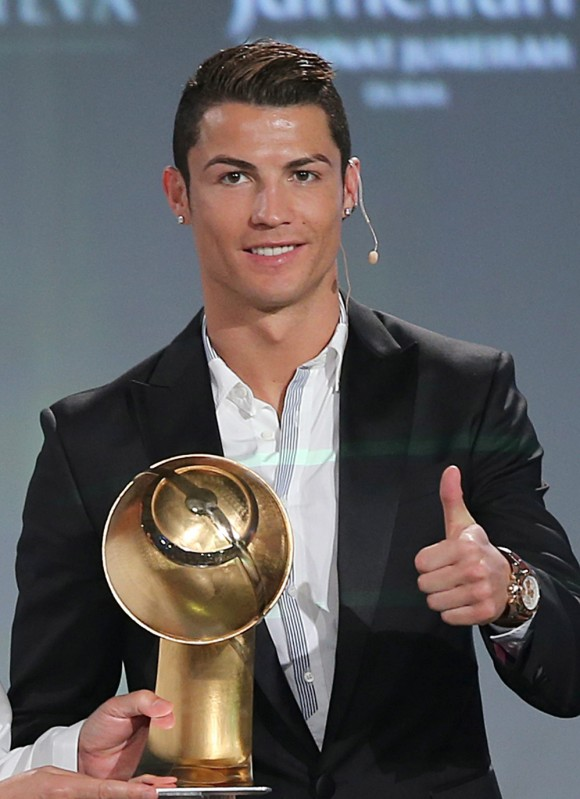 CR7-8th edition of Dubai International Sports Conference in Dubai