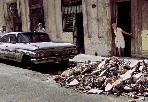 La cantidad de derrumbes ascendió a . Foto: AFP