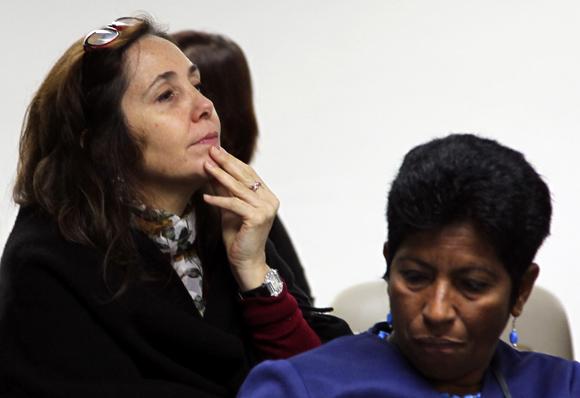 Mariela Castro en la comisión de Salud y Deporte. Foto: Ladyrene Pérez/Cubadebate.