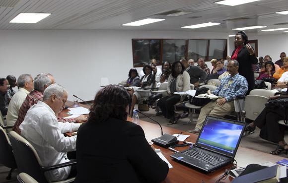 Comisión de Salud y Deporte. Foto: Ladyrene Pérez/Cubadebate.