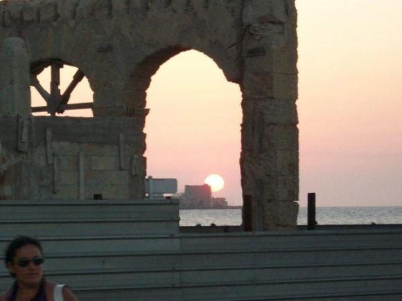 Atardecer en la Habana, tomada desde Prado a Malecón. Foto: Afrodita