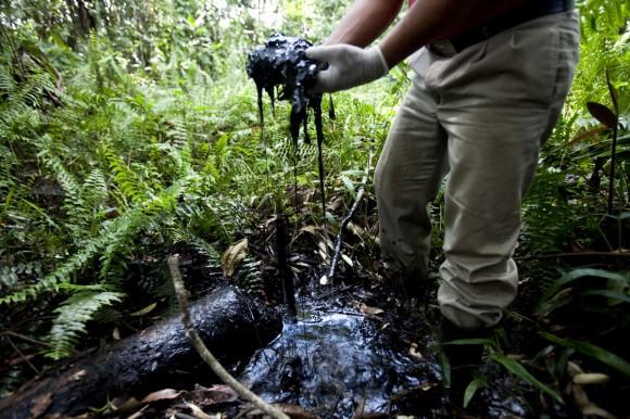 Contaminacion chevron ecuador