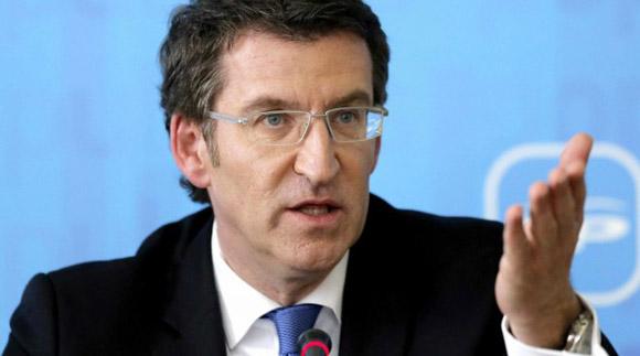 Alberto Núñez Feijóo, presidente de la Xunta. Foto: EFE (Archivo).
