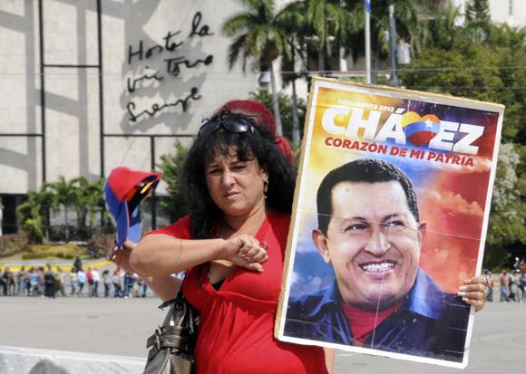 Homenaje póstumo al Presidente Hugo Chávez. Foto: Ladyrene Pérez/CUBADEBATE