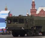 Lanzador de misiles balísticos Iskander