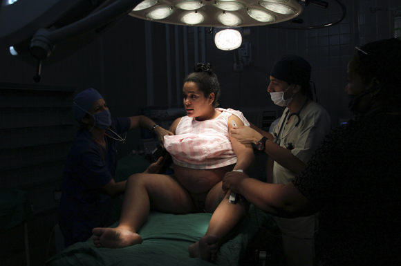 Estabilización de parámetros vitales. Foto: Ladyrene Pérez/Cubadebate.