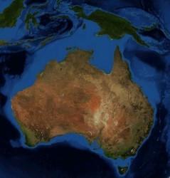 Bajo la plataforma australiana se encuentra la reserva de agua potable.