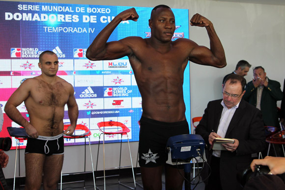 Erislandy Savón de Cuba enfrenterá en los 91 kg a Vitaly Kudukhov de Rusia. Foto: Ismael Francisco/Cubadebate.