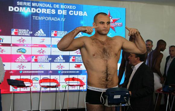 Vitaly Kudukhov de Rusia, 91 kg. Foto: Ismael Francisco/Cubadebate. Francisco/Cubadebate