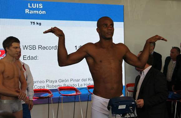 Ramón Luis 75 kg de Cuba. Foto: Ismael Francisco/Cubadebate.