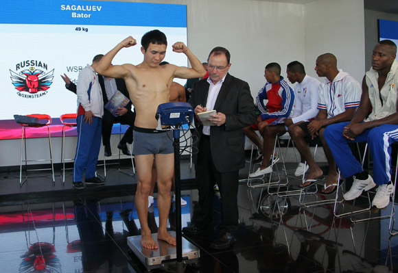 Bator Sagaluev, 49kg Rusia.  Foto: Ismael Francisco/Cubadebate.