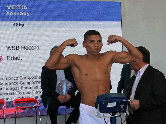 Yosvany Veitía de Cuba, 49 kg. Foto: Ismael Francisco/Cubadebate.