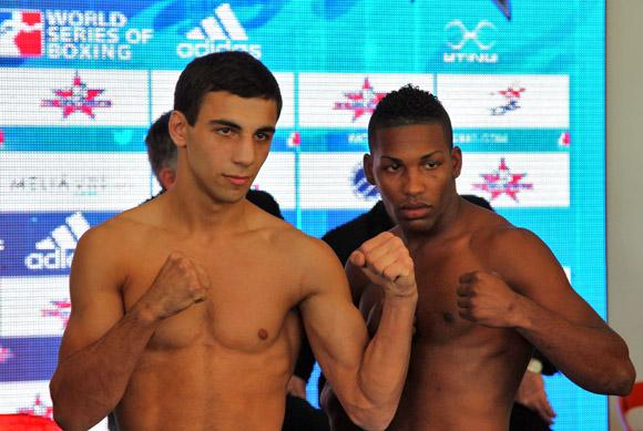 Luis Oliva de Cuba enfrentará a Butaev Radzjab de Rusia en los 64 kg. Foto: Ismael Francisco/Cubadebate.