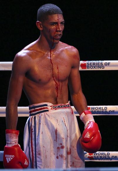 Marcos Forestal de Cuba le ganó a Muhammad Shehov de Rusia. Foto: Ismael Francisco/Cubadebate.