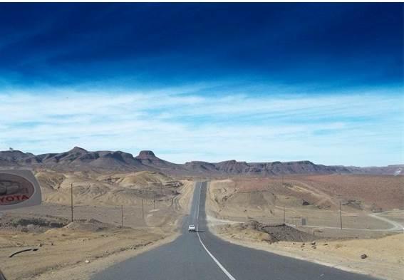 Tierras del sur de Namibia. Foto: José Alberto Zayas Pérez, Arquitecto que presta colaboración en Namibia