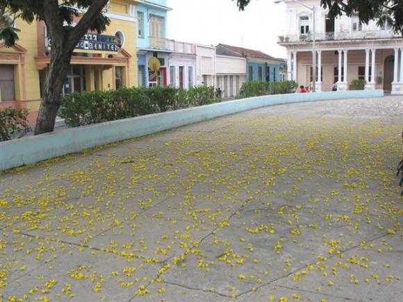 Vista del Parque Serafín Sánchez en Sancti Spíritus. Foto: Alejandro López Pérez