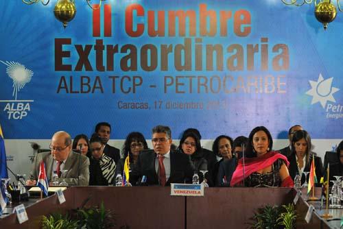 XII Consejo Político del ALBA en Caracas. Elías Jaua, canciller de la República Bolivariana de Venezuela. Foto: Enviada Especial de Granma
