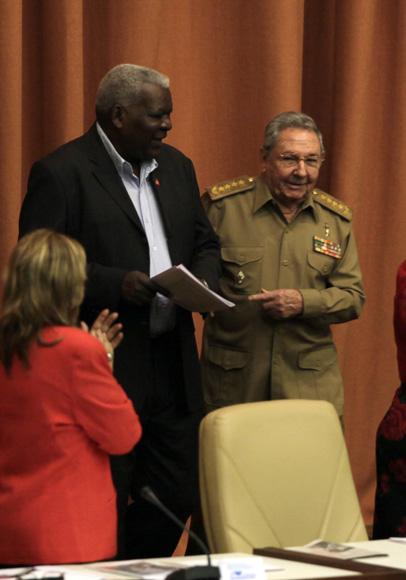 El presidente cubano Raúl Castro, preside sesión plenaria del parlamento cubano. Foto: Ladyrene Pérez/Cubadebate.