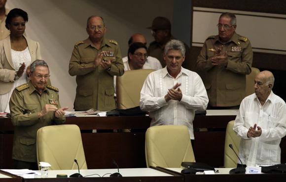 El presidente cubano Raúl Castro, en sesión plenaria del parlamento. Foto: Ladyrene Perez/Cubadebate.