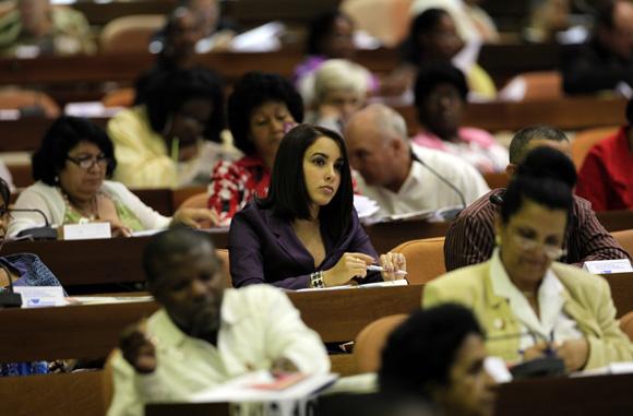 Sesión Plenaria Asamblea Nacional. Foto: Ladyerene Pérez/Cubadebate.