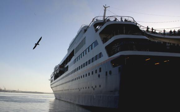 Llegó a La Habana crucero con estudiantes norteamericanos