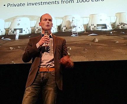 Bas Lansdorp, autor del proyecto de la colonización de Marte Mars One.