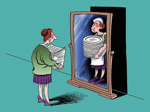 caricatura mujeres 2