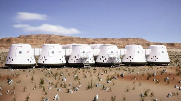 Así sería la vida en Marte