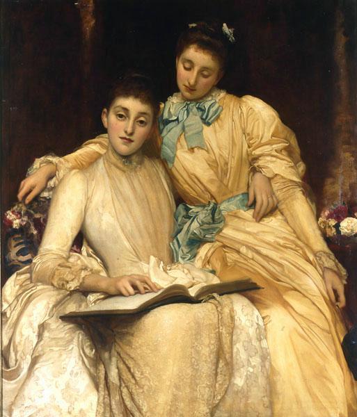 'The Misses Stewart Hodgson', el cuadro más caro vendido en una subasta 'online' (Foto: leicestergalleries.com)