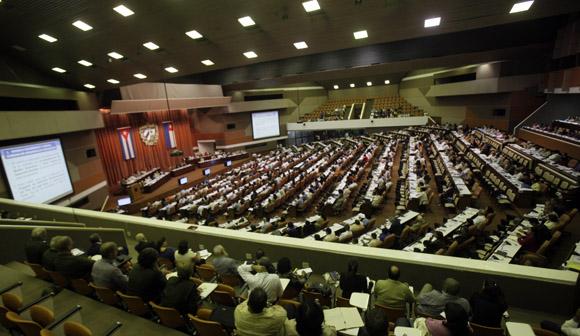 Sesión Plenaria Asamblea Nacional. Foto: Ismael Francisco/Cubadebate.