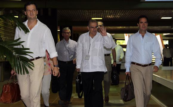 Miembros del Gobierno de Colombia. Foto: Ismael Francisco/Cubadebate.