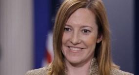 Jennifer Psaki, portavoz del Departamento de Estado norteamericano.