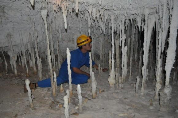 Una de las cuevas del Parque Nacional Cayo Caguanes, al norte de Sancti Spíritus. Es un lugar mágico por la cantidad de cavernas de indescriptibles bellezas . Foto:  Henry Delgado